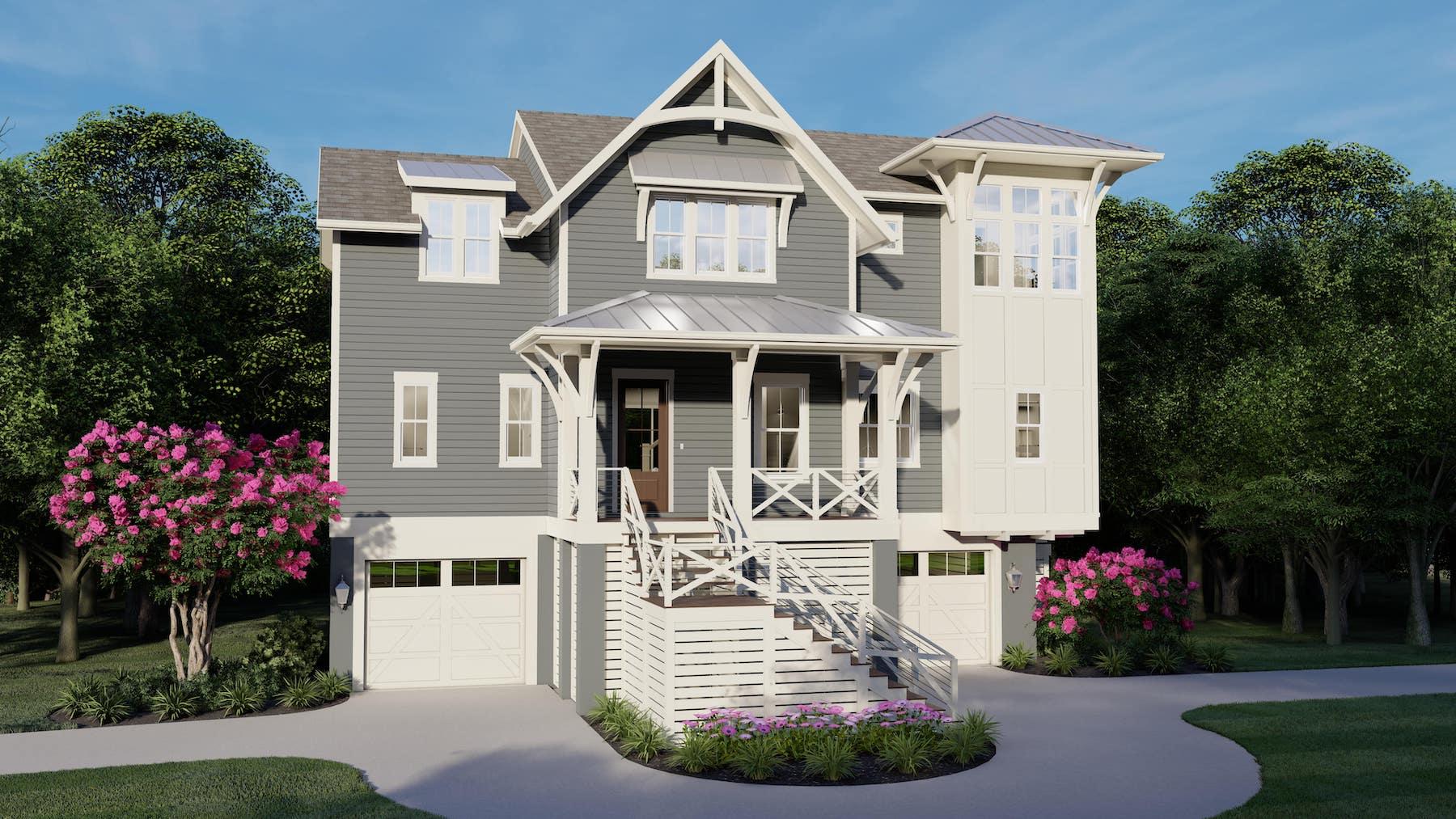 Driftwood 1720 Custom Home Plan