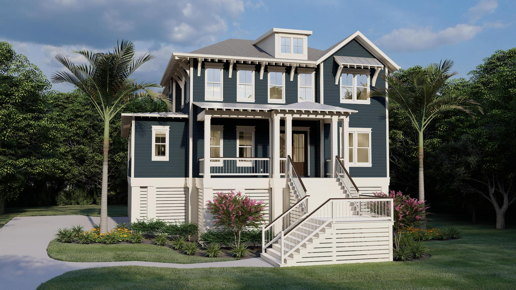 Southport 1549 Custom Home Plan
