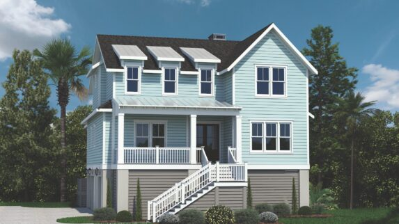 Lafayette 1480 Custom Home Plan