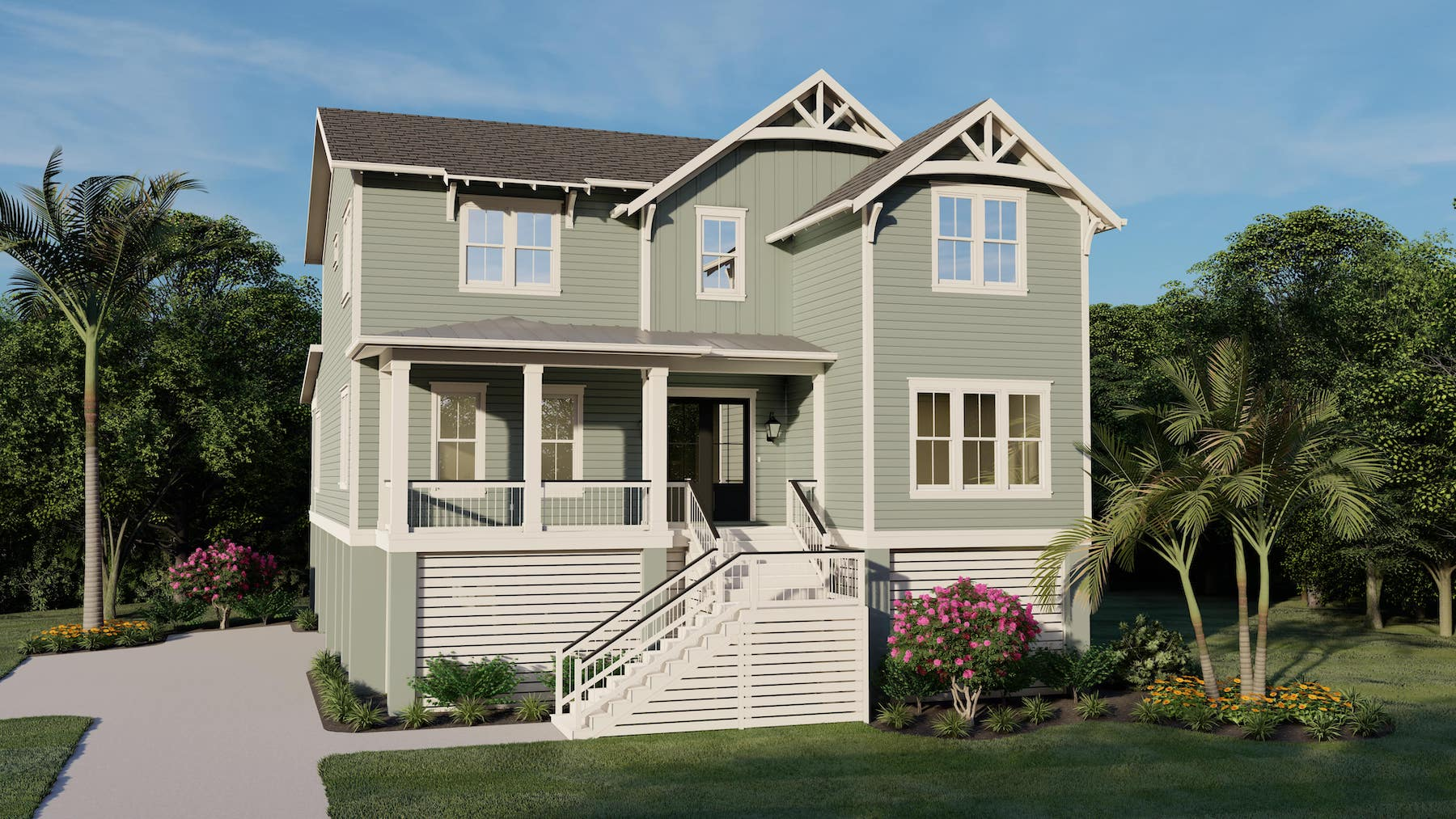 Topsail 1486 Custom Home Plan