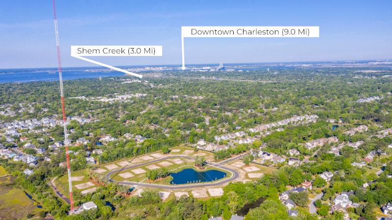 Heirloom Landing to Charleston Distance