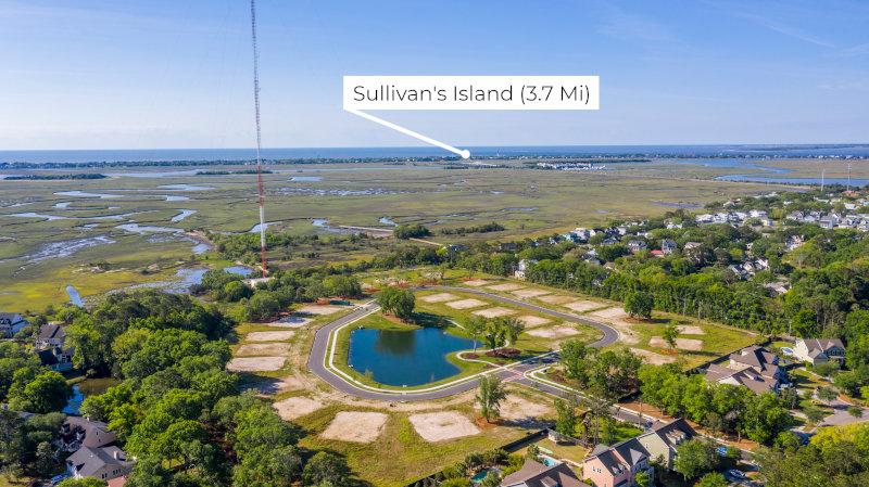 Heirloom Landing to Sullivan's Island Distance