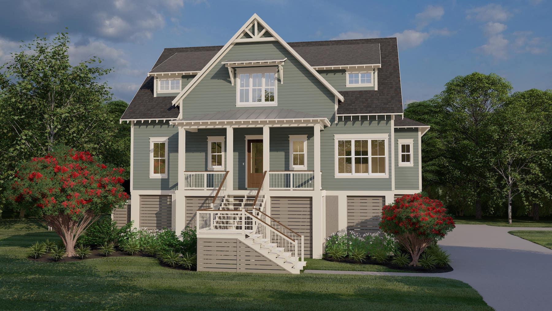Montague 1491 Custom Home Plan